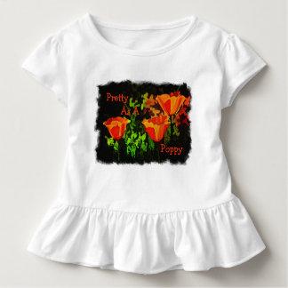 Hübsch als Mohnblume Kleinkind T-shirt