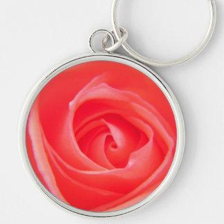Hübsch als Rose Keychain Schlüsselanhänger