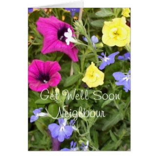 Hübsch erhalten Sie gut gemischte Blumen Karte