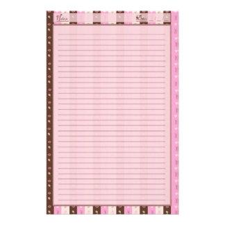 Hübsch im Muster Individuelles Büropapier