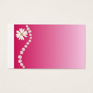 hübsch im Rosa Visitenkarte