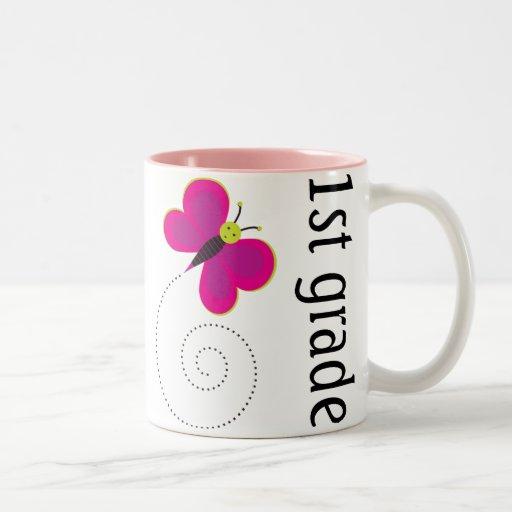 Hübsche 1. Grad-Lehrer-Tasse Zweifarbige Tasse
