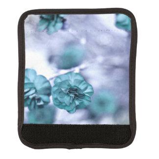 Hübsche blaue Blumen Gepäckgriff Marker
