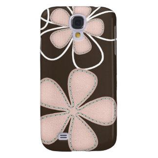 hübsche Blumen3 umkleidend Galaxy S4 Hülle