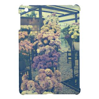 Hübsche Blumen lila und rosa iPad Mini Hülle
