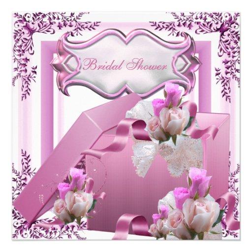 Hübsche Brautparty-Rosa-Geschenk-Blumen-Rose Individuelle Ankündigung
