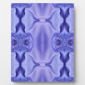 Hübsche Chic-Schatten des Lavendel-Musters Fotoplatte