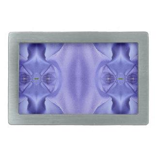 Hübsche Chic-Schatten des Lavendel-Musters Rechteckige Gürtelschnallen