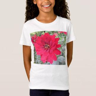 Hübsche Dahlie-Blume T-Shirt