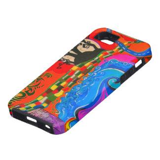 Hübsche Fantasie-Muster iPhone 5 Schutzhülle
