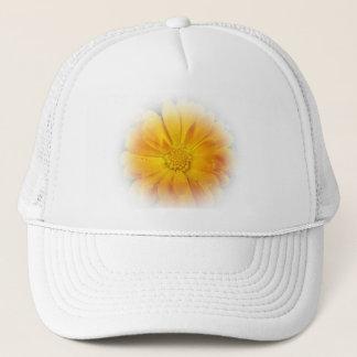 hübsche gelbe Gänseblümchen-Blume Truckerkappe