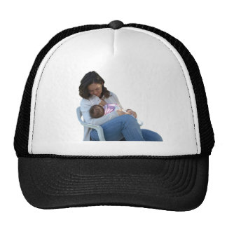 h bsche junge br nette mama die ihr baby stillt cap. Black Bedroom Furniture Sets. Home Design Ideas
