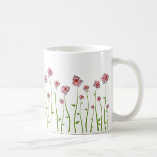 Hübsche kleine Rosen-Tasse