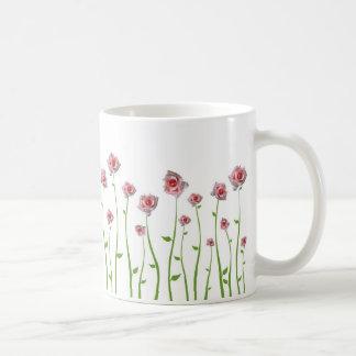 Hübsche kleine Rosen-Tasse Tasse