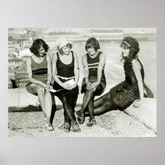 Hübsche Mädchen, Zwanzigerjahre Poster