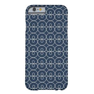 Hübsche Marine-Blau-und Barely There iPhone 6 Hülle