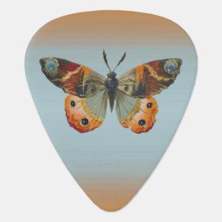 Hübsche Monarch-Schmetterlings-Herbst-Farben Plektrum