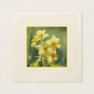 Hübsche Narzissen, Narzisse 03,1 Papierservietten