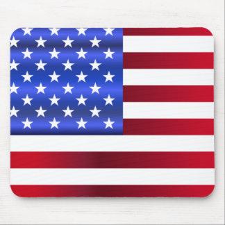 Hübsche patriotische Sterne u. Streifen Mauspads