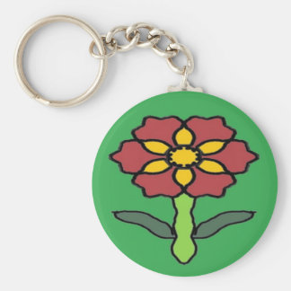 Hübsche Poinsettia Schlüsselanhänger