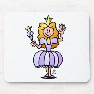 Hübsche Prinzessin Mousepad