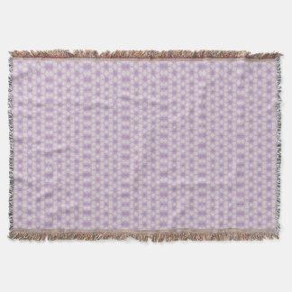 Hübsche Purpur-geometrisches Fraktal Decke
