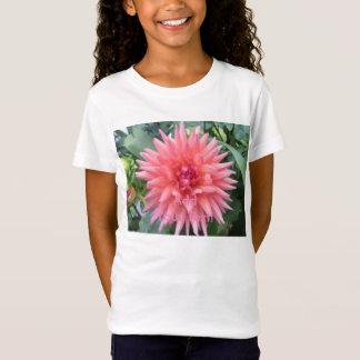 Hübsche rosa Dahlie-Blume T-Shirt