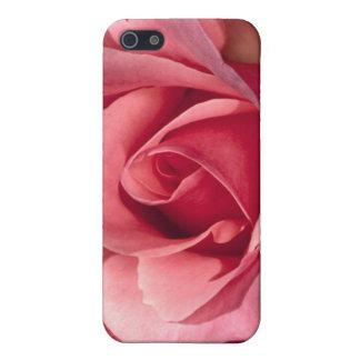 Hübsche rosa Rose iPhone 5 Hülle