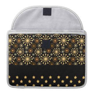 Hübsche Schneeflocken und Sterne Sleeve Für MacBooks