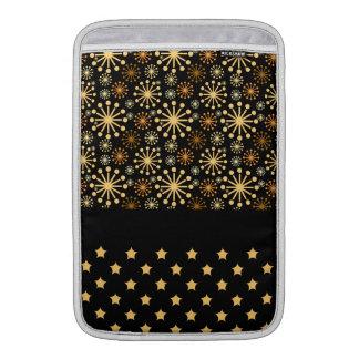 Hübsche Schneeflocken und Sterne Sleeve Fürs MacBook Air