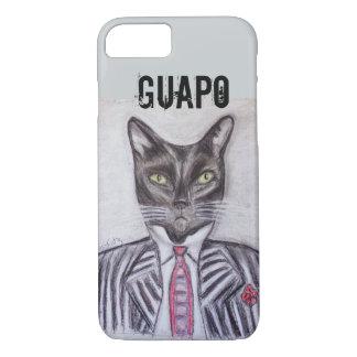 Hübsche Smokings-Katze iPhone 8/7 Hülle