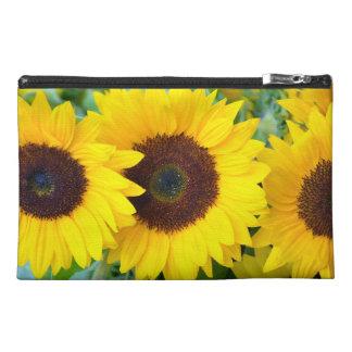 Hübsche Sonnenblumedruck-Reisetasche