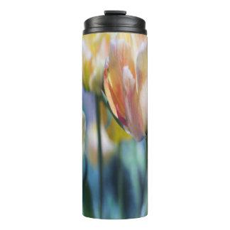 Hübsche spezielle doppelte Tulpen Thermosbecher