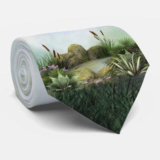 Hübsche Teich-Krawatte Krawatte