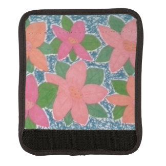 Hübsche tropische Blume gemaltes Muster Gepäckgriff Marker