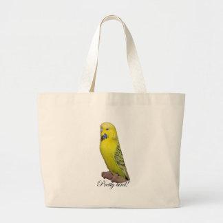 Hübsche Vogel-Taschentasche Jumbo Stoffbeutel