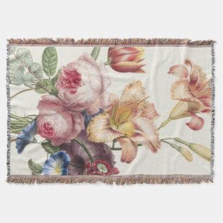 Hübscher Blumenstrauß Decke