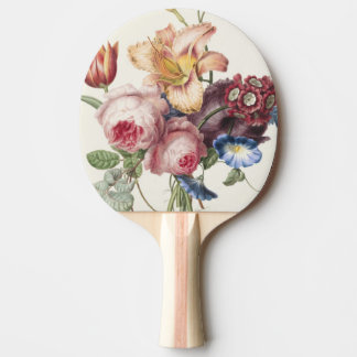 Hübscher Blumenstrauß Tischtennis Schläger