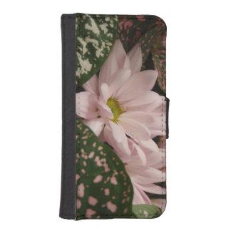 Hübscher Blumentelefon-Kasten iPhone SE/5/5s Geldbeutel