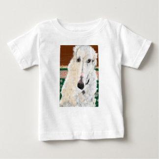 Hübscher Borzoi Baby T-shirt