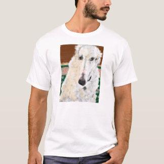 Hübscher Borzoi T-Shirt