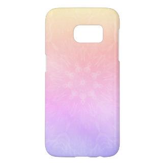 Hübscher cooler PastellregenbogenMandalaentwurf