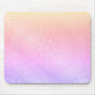 Hübscher cooler PastellregenbogenMandalaentwurf Mousepad