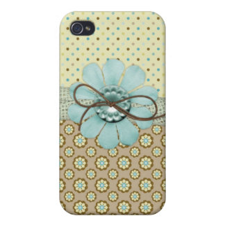 Hübscher Girly Fall des Muster-iPhone4 iPhone 4 Case