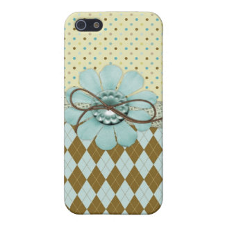 Hübscher Girly Fall des Muster-iPhone4 iPhone 5 Cover