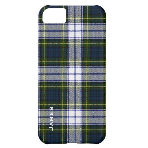 Hübscher Gordon-KleiderTartan karierter iPhone 5 F iPhone 5C Schale