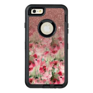 Hübscher Imitat-Rosen-GoldGlitter auf dem OtterBox iPhone 6/6s Plus Hülle