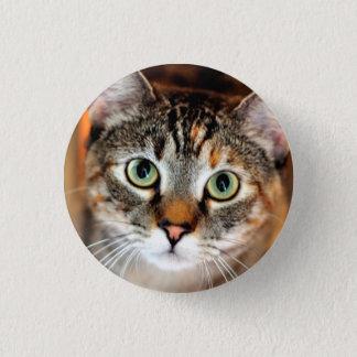 Hübscher Kitty-Katzen-Knopf Runder Button 3,2 Cm