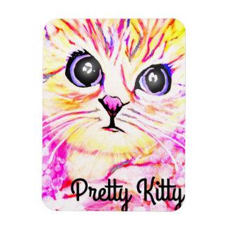 Hübscher Kitty-Magnet Magnet