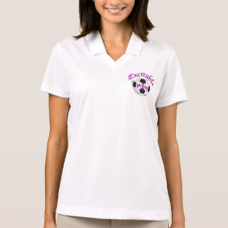 Hübscher Lavendel-erregbarer Fußball-MammaHoodie Polo Shirt